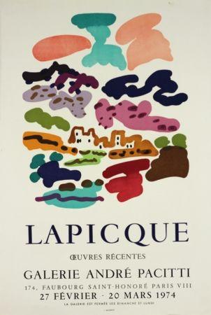リトグラフ Lapicque - Galerie Pacitti