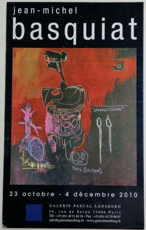 オフセット Basquiat - Galerie Pascal Lansberg