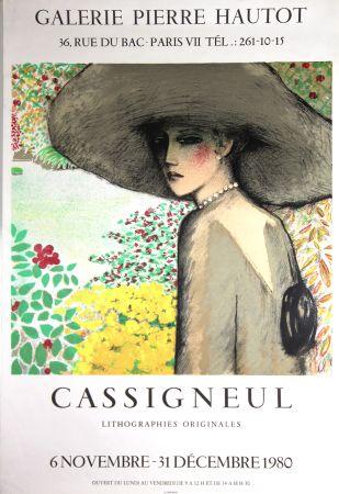 リトグラフ Cassigneul  - Galerie Pierre Hautot