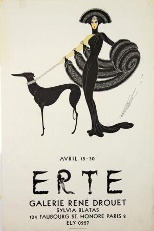 リトグラフ Erte - Galerie Rene Drouet