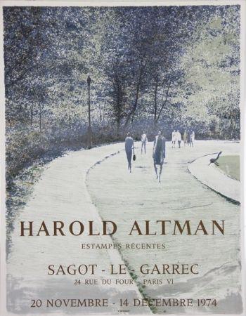 リトグラフ Altman - Galerie Sagot Le Garrec