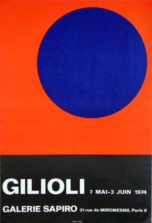 掲示 Gilioli - Galerie Sapiro