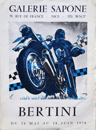 リトグラフ Bertini - Galerie  Sapone
