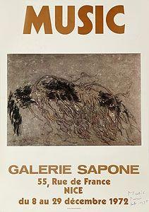 オフセット Music - Galerie Sapone, Nice