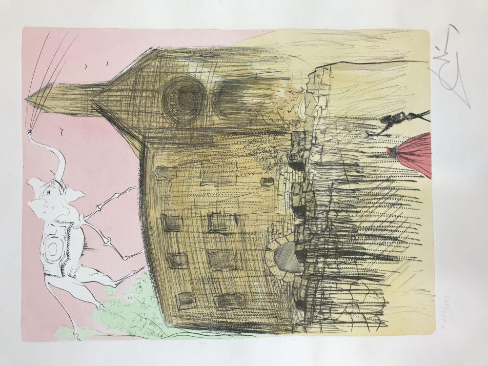エッチングと アクチアント Dali - Galla's Castle