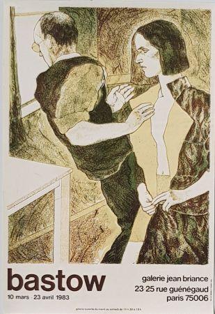 リトグラフ Bastow - Gallery  Jean  Briance