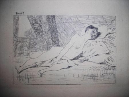 エッチング Rops - Gamiani ou deux nuits d'exces