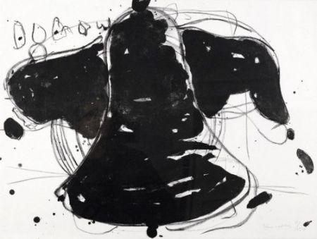 リトグラフ Kounellis - Gegen die Folter