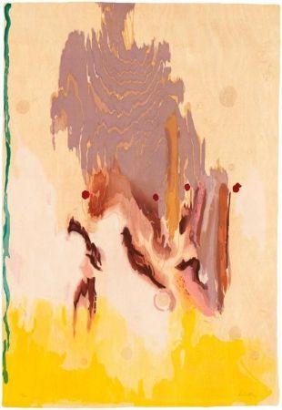 木版 Frankenthaler - Geisha