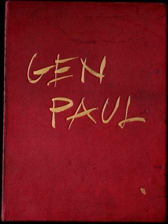 挿絵入り本 Paul  - GEN PAUL par/by Pierre Davaine,Preface Dr J.Miller - 1974