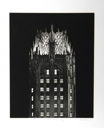 彫版 Haas - General Electric Building