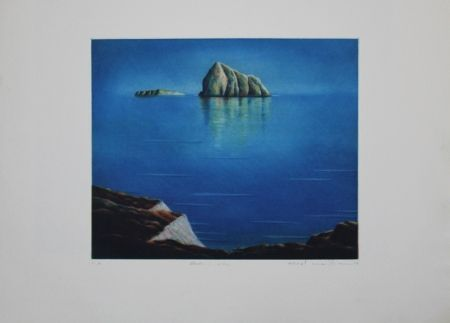 エッチングと アクチアント Maibaum - Genesis:  Insel