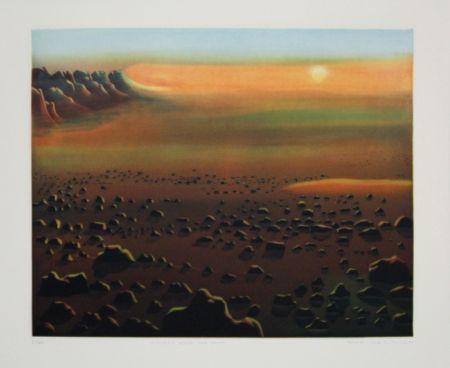 エッチングと アクチアント Maibaum - Genesis:  Wüste und Sonne