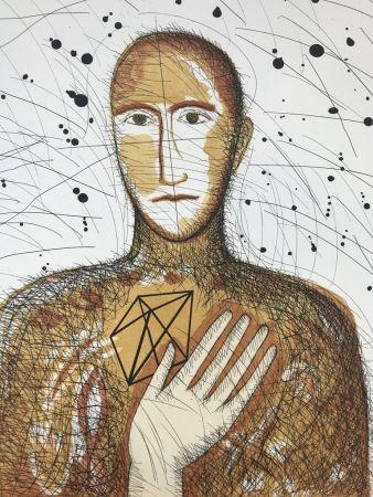 エッチングと アクチアント Paladino - Geometrico