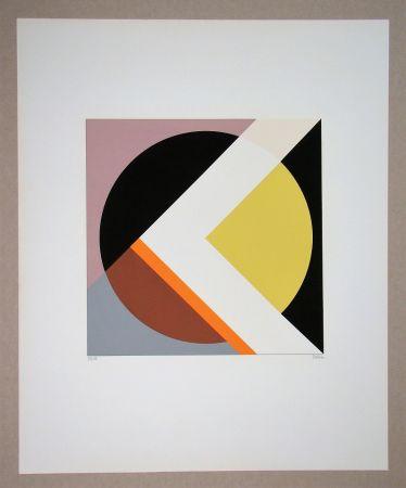 シルクスクリーン Dexel - Geometrische Komposition