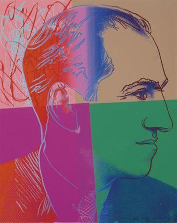 シルクスクリーン Warhol - George Gershwin (FS II.231) Trial Proof