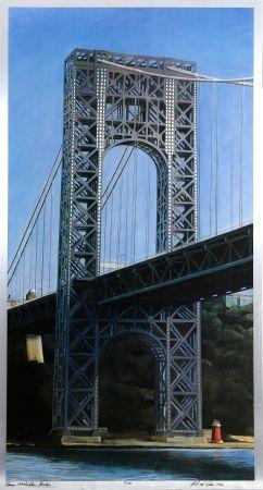 リトグラフ Haas - George Washington Bridge
