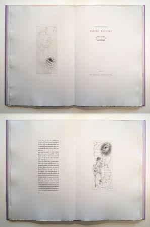挿絵入り本 Bellmer - Georges Bataille : Madame Edwarda. 12 gravures originales signées (1965).