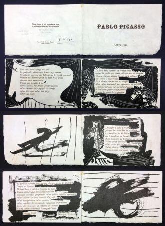 挿絵入り本 Picasso - Georges Hugnet : PABLO PICASSO (Paris, 1941).