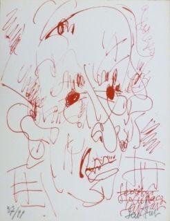 リトグラフ Paul  - Georges Lukacz