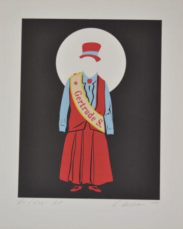 リトグラフ Indiana - Gertrude Stein - Mother of us all portfolio