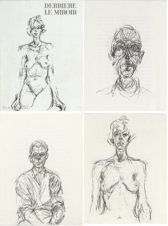 挿絵入り本 Giacometti - GIACOMETTI. DERRIÈRE LE MIROIR N°127. Mai 1961