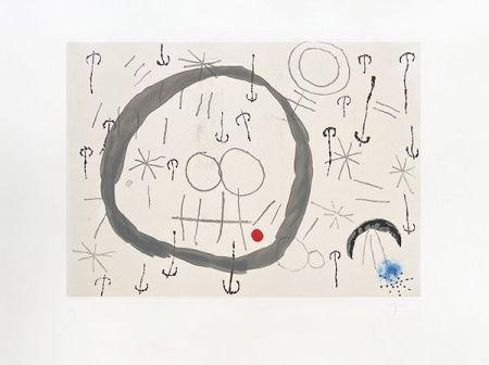 彫版 Miró - Giboulées
