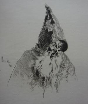 彫版 Vierge - Gil Blas