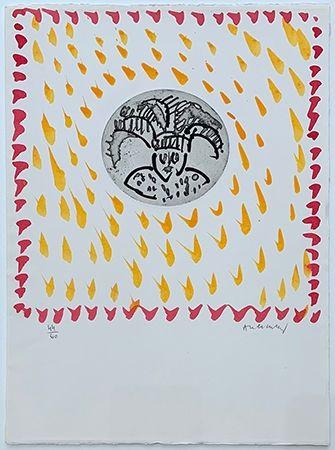 彫版 Alechinsky - Gille de Binche