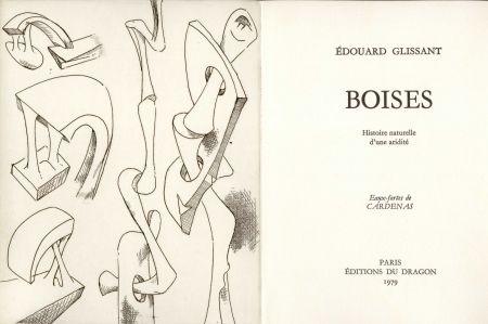 挿絵入り本 Cardenas - GLISSANT (Édouard). Boises. Histoire naturelle d'une aridité.