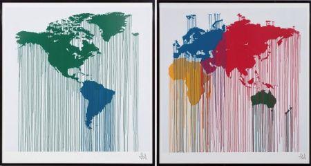 リトグラフ Zevs - Global Liquidation