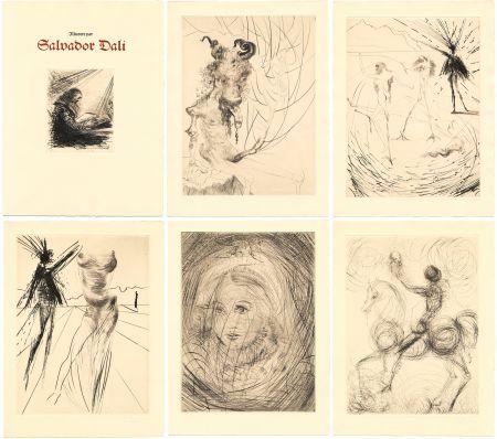 挿絵入り本 Dali - GOETHE : FAUST. 21 gravures de Salvador Dali (1969