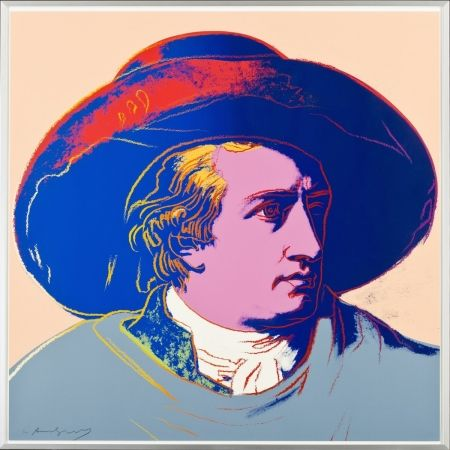シルクスクリーン Warhol - Goethe FS II.273