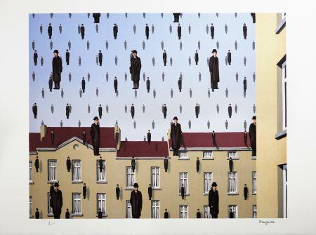 リトグラフ Magritte - Golconde