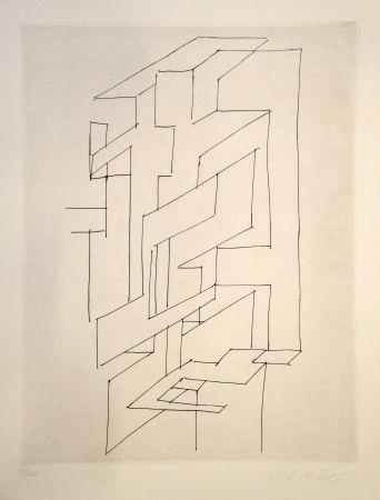 彫版 Vasarely - Gordes Gestalt
