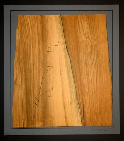彫版 Vasarely - Gordes Nives