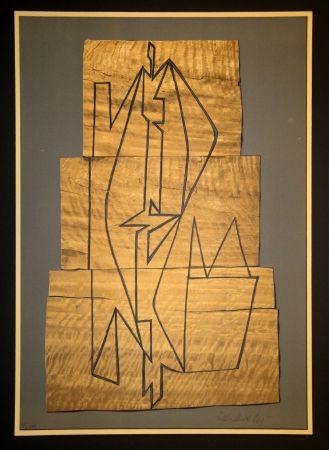 リトグラフ Vasarely - Gordes Tabor