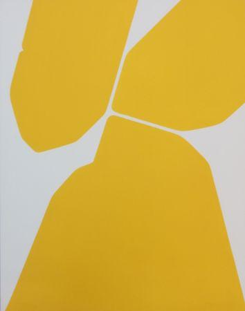 エッチングと アクチアント Palazuelo - GOTICA I. Variation. Eau-forte signée (1972)