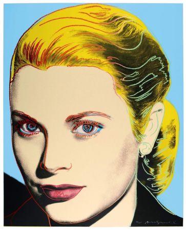 シルクスクリーン Warhol - Grace Kelly (FS II.305)