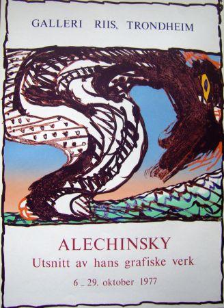 掲示 Alechinsky - Grafiske verk