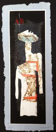 彫版 Coignard - Grand mannequin debout