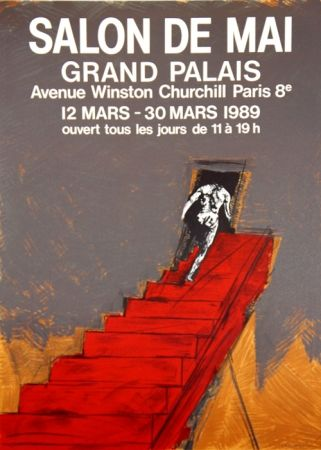 リトグラフ Velickovic - Grand Palais Salon D'Automne