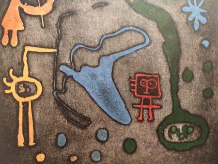 挿絵入り本 Miró (After) - Graphic works