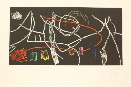 リトグラフ Miró - GRAVURES POUR UNE EXPOSITION