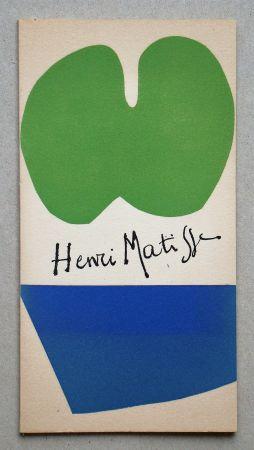 挿絵入り本 Matisse - Gravures Récentes