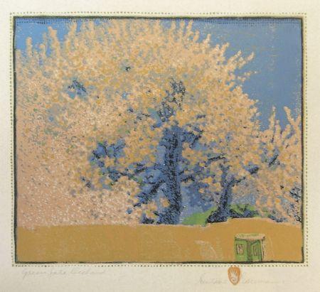 木版 Baumann - Green Gate Orchard
