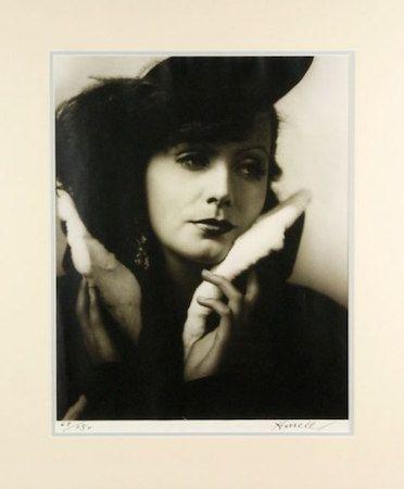 写真 Hurrell - Greta Garbo