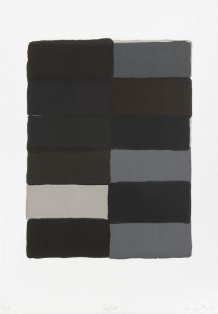 リトグラフ Scully - Grey fold
