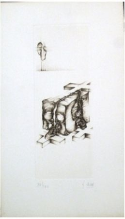 彫版 Deux - Gris