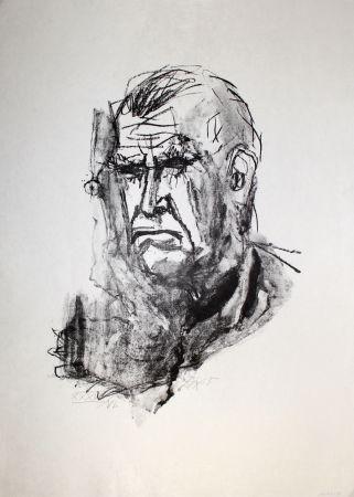 リトグラフ Dix - Grosses Selbstbildnis / Large Self-Portrait